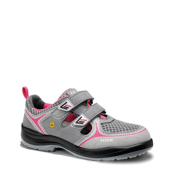 premium selection 8b3c1 7cbb7 Elten Sicherheitsschuhe Mila pink Easy ESD S1P Sicherheitssandale speziell  für Damen