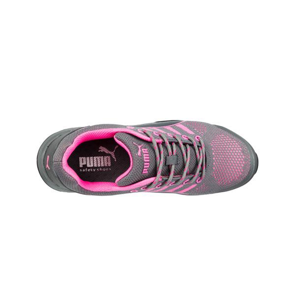 cheaper 8c994 8a38b Puma Sicherheitsschuhe Celerity Knit Pink Wns Low S1 HRO SRC Halbschuhe  speziell für Damen mit Stahlkappe