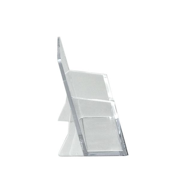 Activeworkplace Visitenkartenhalter Im Querformat Farbe Transparent